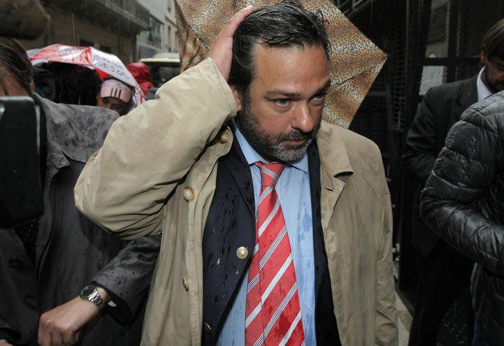 Maximiliano Rusconi, el nuevo abogado.