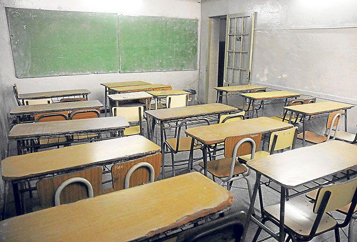 Las aulas volverán a estar vacías por el reclamo docente.