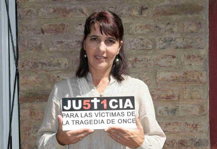 María del Luján Rey se mostró satisfecha tras la detención de Ricardo Jaime.