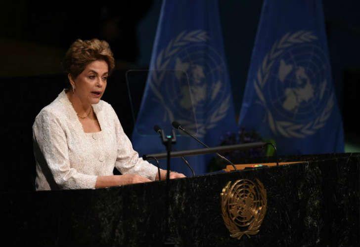 La presidenta brasileña ante Naciones Unidas