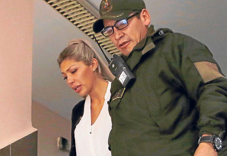 Gabriela Zapata, ex pareja del Presidente boliviano