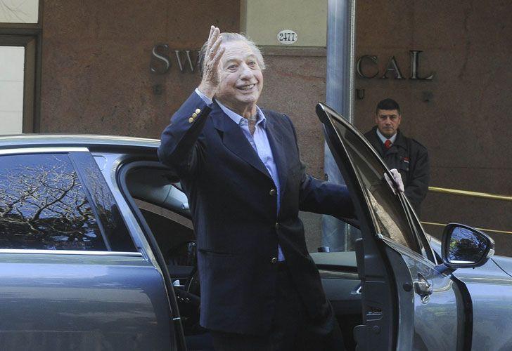 El empresario Franco Macri, padre del Presidente.