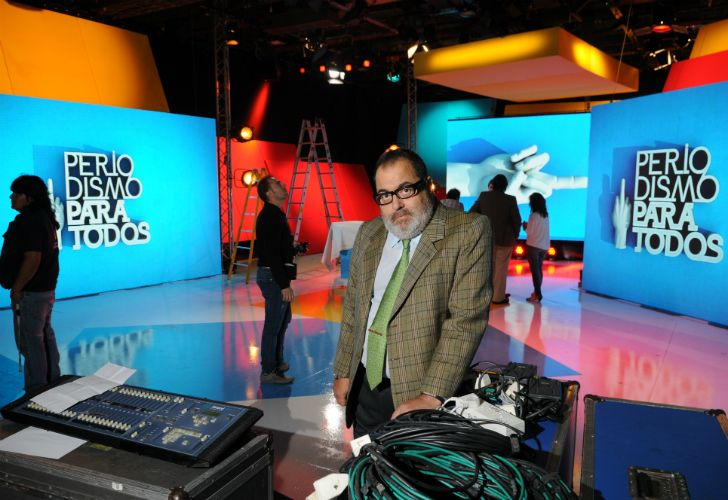 El periodista Jorge Lanata.