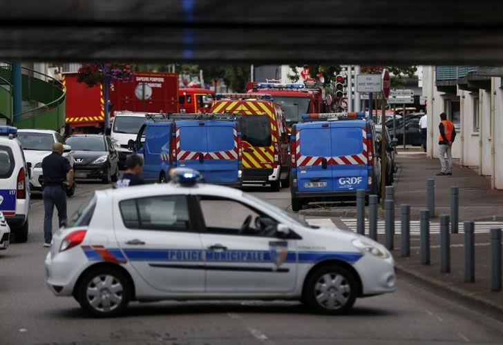 Ataque Iglesia Francia
