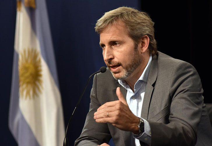Rogelio Frigerio, ministro del Interior