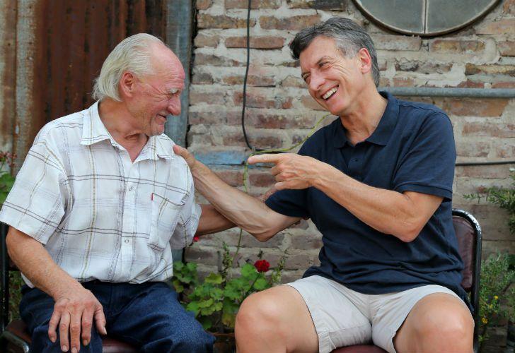 El encuentro con los jubilados fue una de las principales postales de campaña de Cambiemos. Hoy, se planea usar los datos de los afiliados al PAMI.