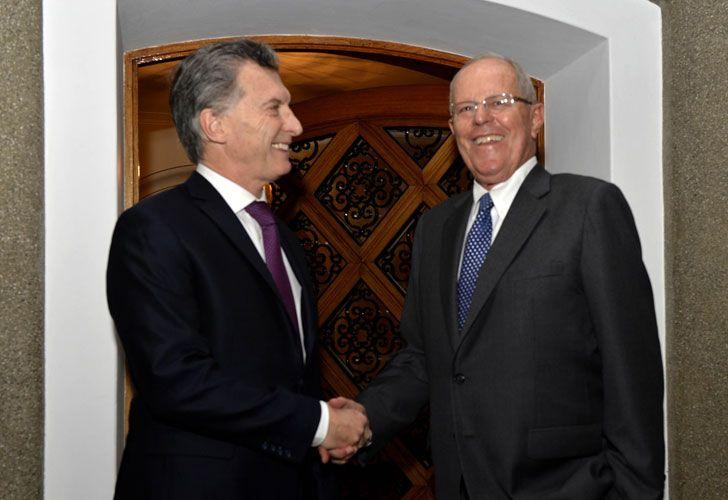 Macri en Peru
