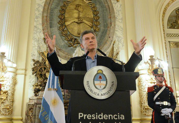 El Presidente anunció el plan de cobertura universal de salud.