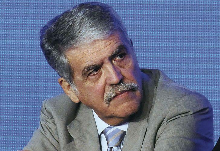 Julio De Vido, ex ministro de Planificación.