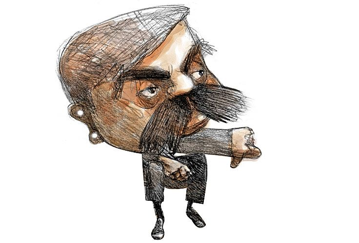 Aníbal Fernández, por Pablo Temes