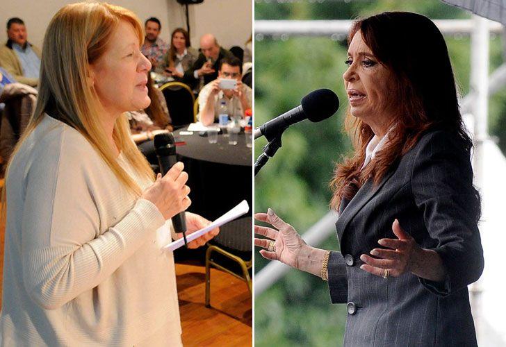 Stolbizer y Cristina Kirchner tienen una audiencia de mediación el próximo lunes.