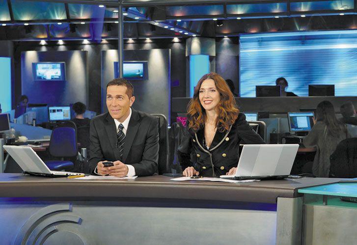 La data. Santillán y Biasatti el jueves pasado derrotaron a sus colegas de Telefe Noticias, Pérez y Barili, por 5,6 puntos.