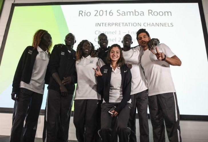 Superaciòn. Rami Anis escapó de Aleppo y competirá con Michel Phelps- Los diez deportistas fueron invitados por el COI.