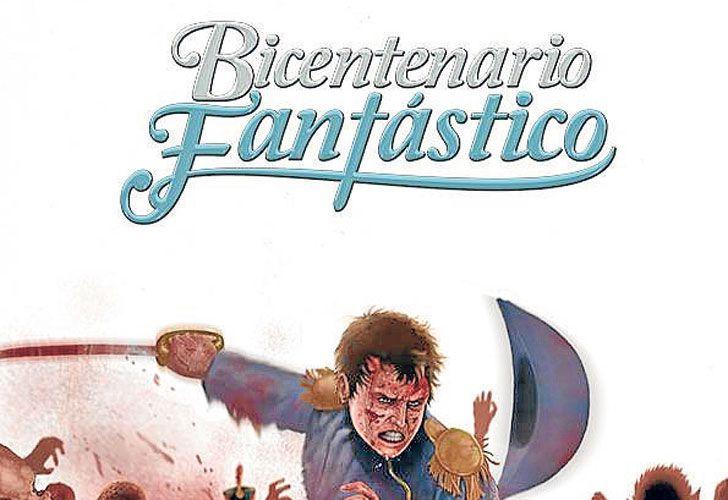 La obra. El grupo de historietistas tucumanos (ab. izq.) buscó romper con los clásicos relatos de los hechos del bicentenario.
