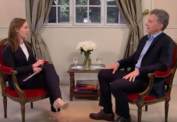 Entrevista al presidente Macri