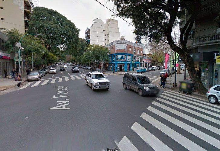 Hombre atrincherado en el barrio de Chacarita