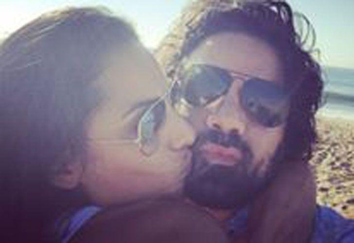 Fernando Luis Riccio y Camila Solórzano juntos.