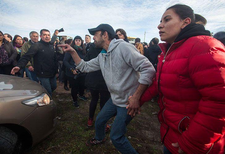 Incidentes en Mar del Plata en acto de Macri