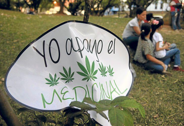 Compuesto. En Argentina sólo se importa el aceite de cannabis para uso compasivo con la autorización de la Anmat.