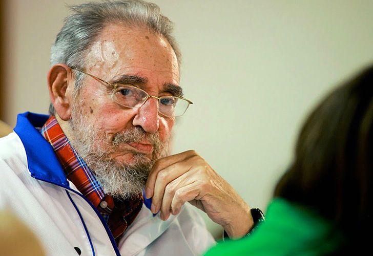 El expresidente cubano, Fidel Castro