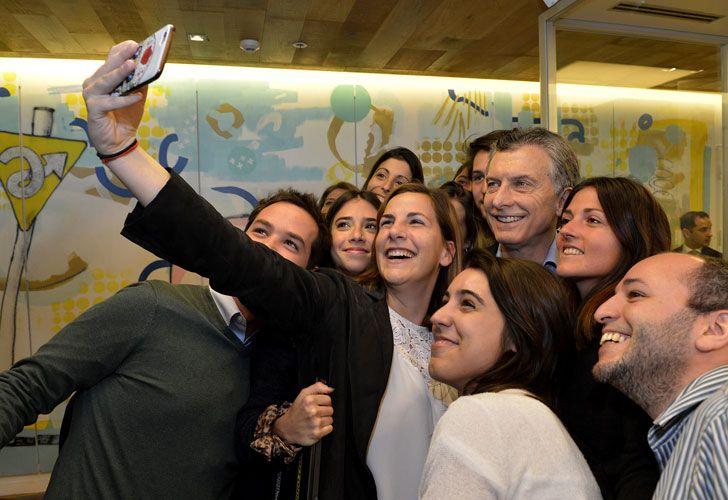 Macri, en Mercado Libre.