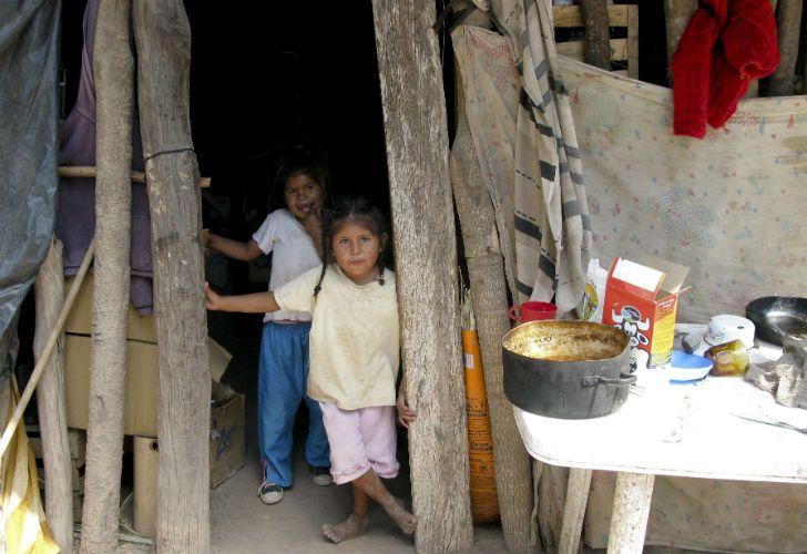 FENÓMENO. La infantilización de la pobreza, cada vez más alta.