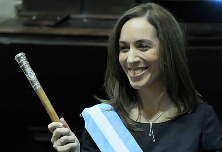 La gobernadora bonaerense, María Eugenia Vidal.