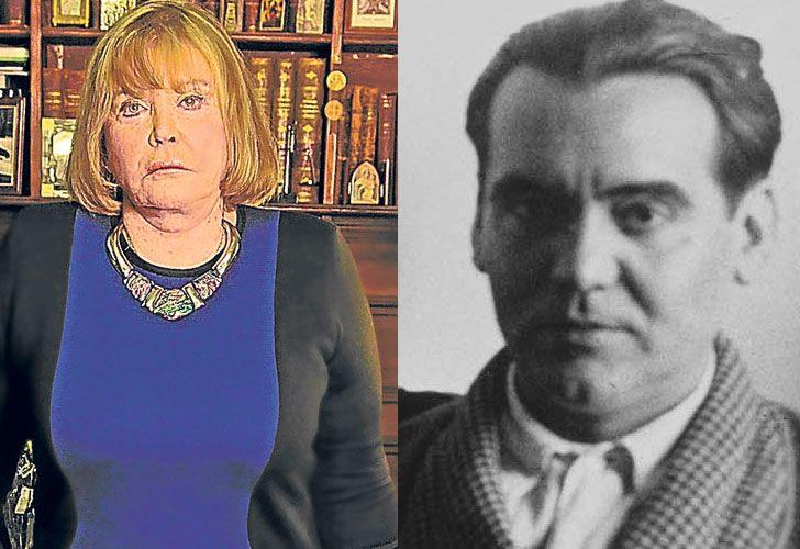 Justicia universal. Izq., la jueza Servini de Cubría; der., el poeta español, asesinado en 1936.