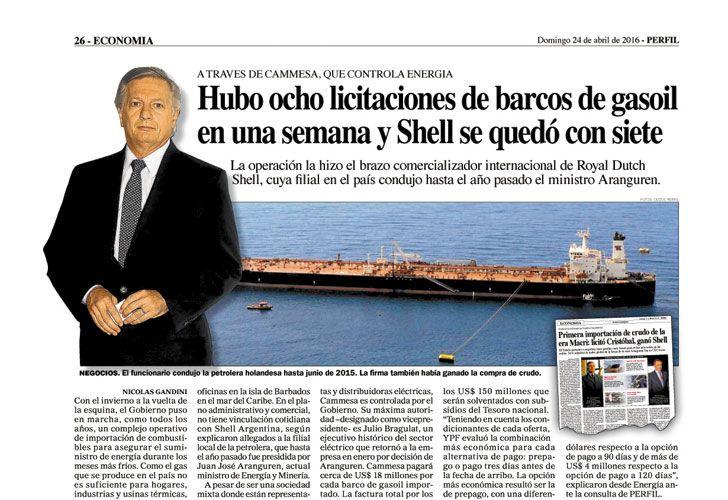 ANTICIPO. PERFIL reveló que Shell viene de racha este año.
