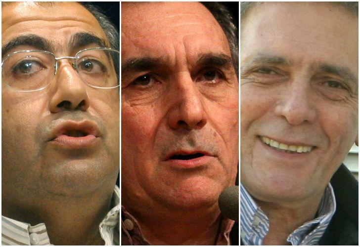 CGT unificada con Daer, Schmidt y Acuña.