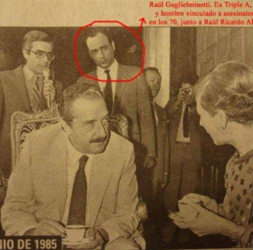 Junio de 1985. El represor Guglielminetti