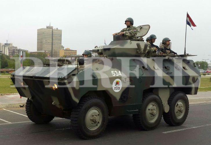 El diario paraguayo ABC dio a conocer imágenes del ataque.