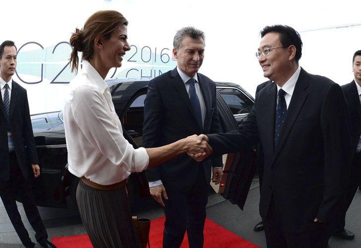 El mandatario llegó alrededor de las 23 (hora de Argentina) a Hangzhou.