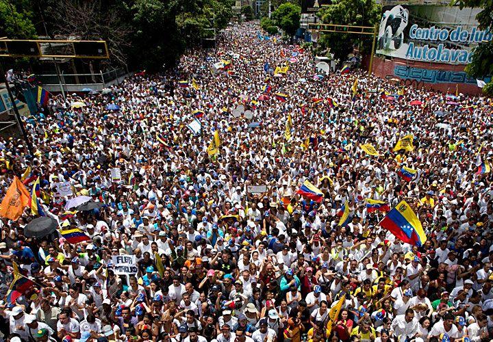 Más de un millón. Esa fue la convocatoria en la marcha del jueves en Caracas, según sus organizadores. El desafío ahora es cómo dar fuerza política a la movilización.