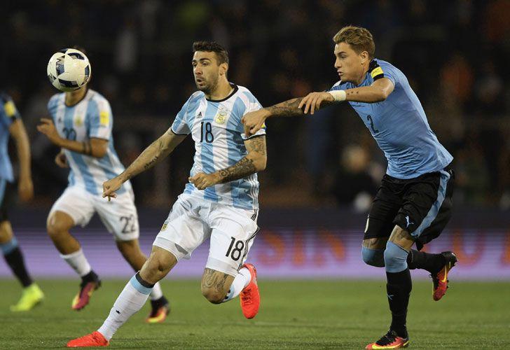 La carta. El jugador del Atlético Mineiro hoy está por encima de Higuaín y de Agüero. Un delantero que no es sólo potencia.