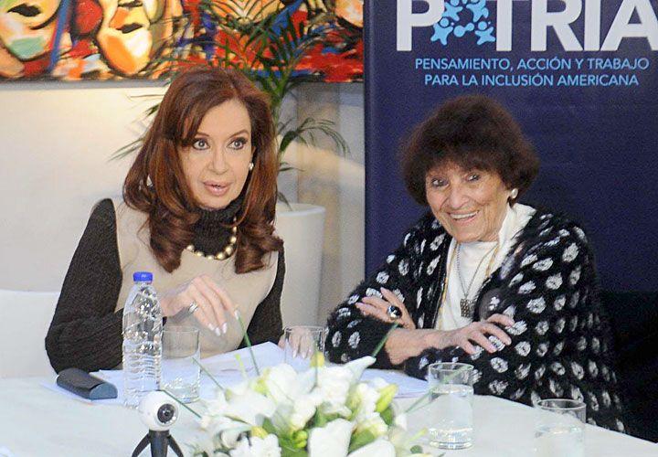 Actividad. El búnker de CFK está ubicado en Rodríguez Peña al 80, en la Ciudad, a metros del Congreso.