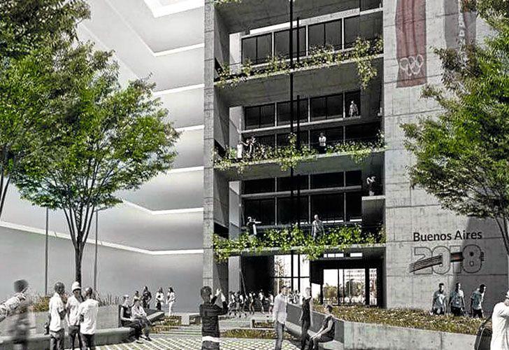 Complejo. Serán 31 edificios de siete pisos. El 10% deberá ser vendido a vecinos de la Comuna 8.