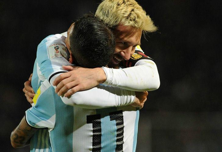 Messi volvió a la Selección y marcó un gol