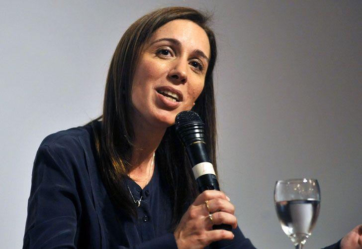 María Eugenia Vidal habló de su gestión.