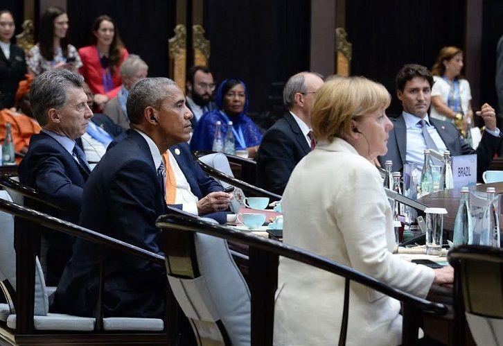 Durante su participación en la Cumbre del G20, que se realiza en Hangzhou, China, el presidente Mauricio Macri compartió con líderes mundiales como Barack Obama y Angela Merkel.