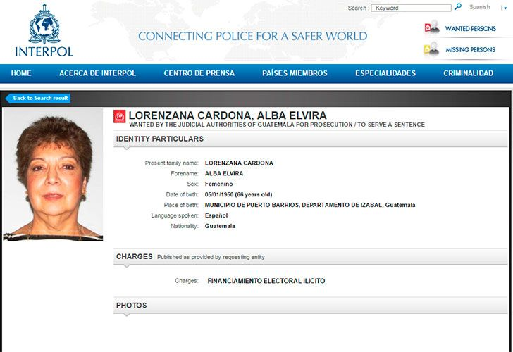 Lorenzana Cardona, Alba Elvira