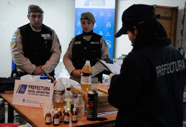 El Ministerio de Seguridad secuestró 3 mil kilos de precursores químicos utilizados para la fabricación de más de 4 mil kilos de cocaína.