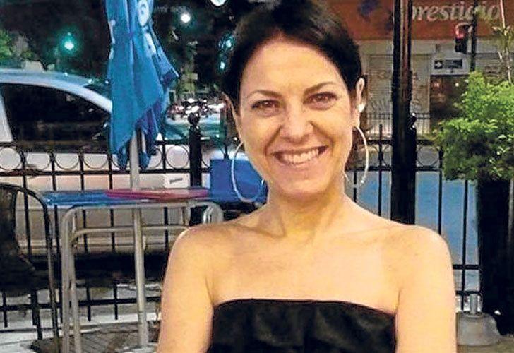 Victima. María Caviglia era bailarina de tangos. Tenía 50 años.