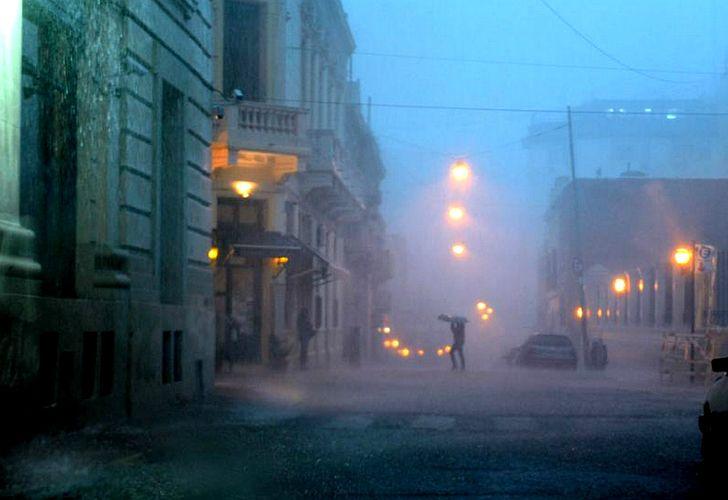 Se esperan fuertes lluvias para Capital y alrededores.