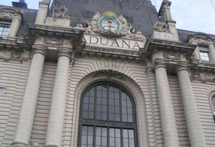 Edificio de la Aduana Argentina.