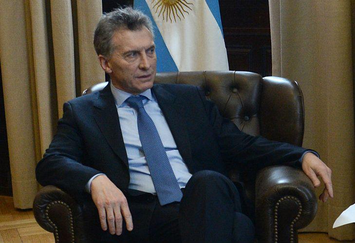 Mauricio Macri brindó una entrevista a la prensa