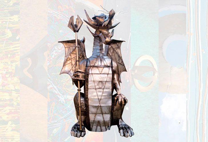 Dragón de hierro