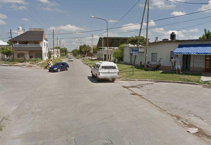 El incidente ocurrió en una casa de la calle Ezeiza al 6500.