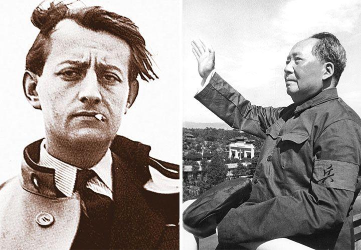 Personajes. Malraux planteó una idea de la lucha política que de alguna manera pudo verse en la ética de la Revolución Cultural china. Una mirada de lo humano, donde la condición de héroe tiene que ver más con la historia que con virtudes especiales. Algo que sedujo a muchos intelectuales de su tiempo.
