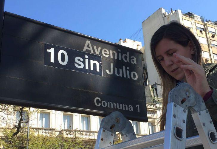 A 10 años de la desaparición de Julio López, intervienen la 9 de Julio.